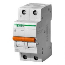 Выключатель автоматический Schneider ВА63 2П 16А С 11213
