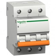 Выключатель автоматический Schneider ВА63 3П 25А С