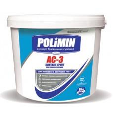 Грунт-краска Полимин АС-3 (15кг)