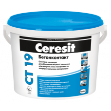 Грунтовка бетоноконтакт CERESIT CT-19 (15кг)