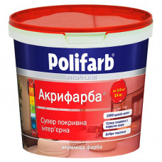Краска интерьерная Polifarb Акрифарба (14кг.)