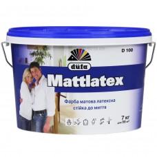 Краска латексная матовая DUFA Mattlatex D100 (14кг)