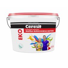 Краска интерьерная акриловая матовая CERESIT EKO (14кг)