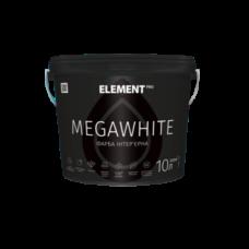 Краска интерьерная Element PRO MEGAWHITE (10л)