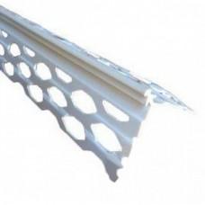 Уголок ПВХ для мокрой штукатурки (2,5м)