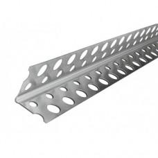 Уголок алюминиевый перфорированный усиленный ЕВРО (3м)