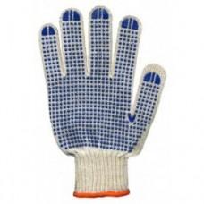Перчатки синтетические с покрытием (резиновые точки)