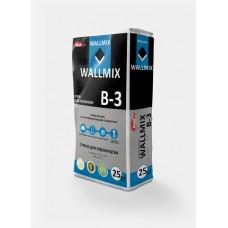 Клей для газоблока WALLMIX В-3 (25кг)