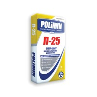 Клей для плитки супер-еласт Полімін П-25 (Polimin) (25кг)