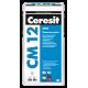 Клей для напольных плит и керамогранита Церезит СМ-12 (Ceresit СМ-12) (25кг)