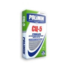 Стяжка для пола армированная Полимин СЦ-5 (Polimin) (25кг)