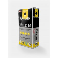 Штукатурка цементно-известковая Wallmix С-16 (25кг.)