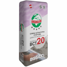 Штукатурка стартовая Ансерглоб ВСТ-20 (25кг.)