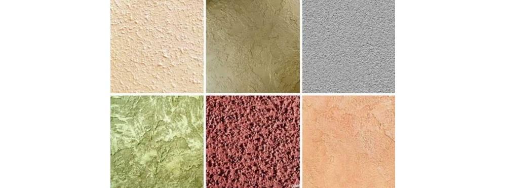 Структурная краска для стен - особенности